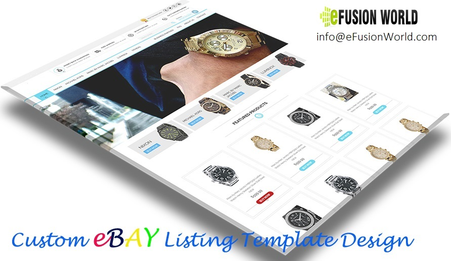 Professional eBay Template Design