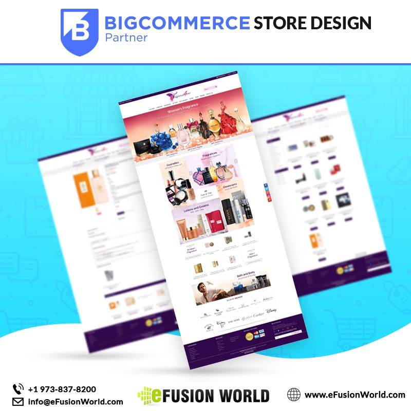 Custom BigCommerce Store Design