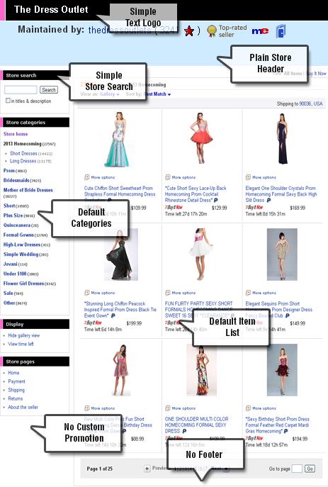 Custom Ebay Shop Design Page Responsive Ebay Storefront Designer