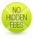 No hidden fees or extra charges